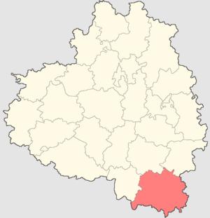 Yefremovsky District - Image: Tulskaya oblast Efremovsky rayon