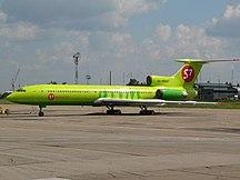 Irkutsk Airport-Passenger-Tupolev Tu-154M, S7 - Siberia Airlines AN0922895