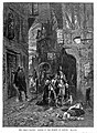 Two men discovering a dead woman in the street during the Great Plague of London Wellcome L0001879.jpg