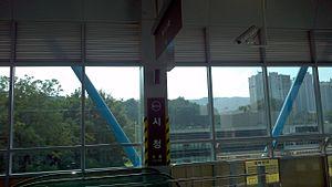 Uijeongbu City Hall Station - Image: U114 Uijeongbu City Hall 01