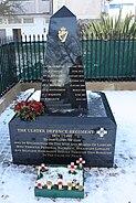 UDR Memorial, Lisburn, November 2010 (01)