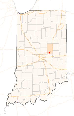 Fall Creek massacre - Pendleton, Indiana