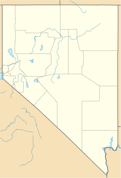 Dayton is located in Nevada