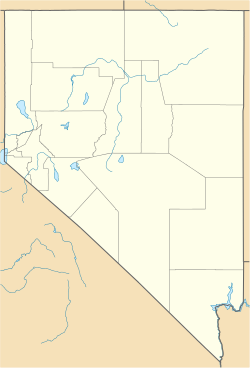 Eureka, Nevada is located in Nevada