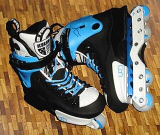 Inline skates Type of roller skate