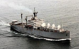 USS Sherburne (APA-205) - USNS Range Sentinel