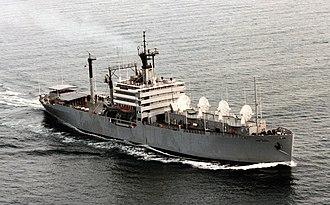 Tracking ship - Missile Range instrumentation Ship USNS Range Sentinel