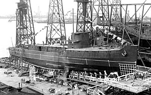 USS Auk (AM-57) - Image: USS Auk (AM 57) at Norfolk Navy Yard 1941