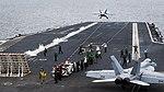 USS Carl Vinson conducts flight operations. (26245867344).jpg