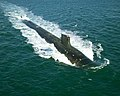 USS Jimmy Carter (SSN 23) during sea trials.jpg