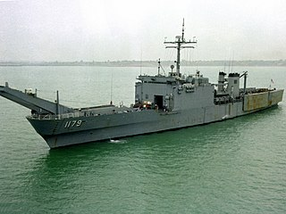 USS <i>Newport</i> (LST-1179) Newport-class tank landing ship