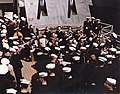 US 6th Fleet Band on USS Salem (CA-139) in 1951.jpg