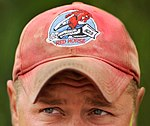 US Air Force Red Horse Red Ball Cap.jpg