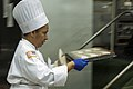 US Army Reserve Culinary Arts Team serves three-course meal to guest diners 160310-A-XN107-033.jpg