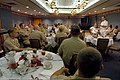 US Navy 050927-N-2383B-356 Chief of Naval Operations (CNO) Adm. Mike Mullen speaks to command master chiefs during a luncheon meeting at the Naval Air Station Oceana Chief Petty Officer Club.jpg