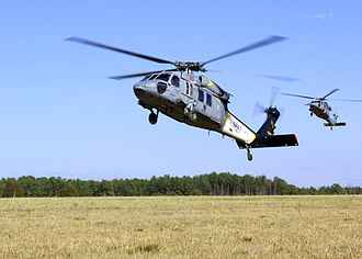 HSC-2 - Two of HSC-2's MH-60S helicopters