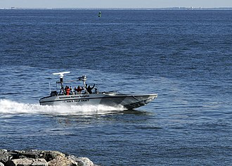 Unmanned surface vehicle - A USV demonstration at Hampton, Virginia, January 2009