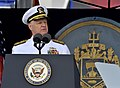 US Navy 100528-N-8273J-100 Chief of Naval Operations (CNO) Adm. Gary Roughead addresses the U.S. Naval Academy Class of 2010 during the graduation and commissioning ceremony.jpg