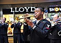 US Navy 110407-N-RO948-065 Musician 3rd Class Michael Bookman Jr. performs with the U.S. 7th Fleet Band at the Changwon City Mall.jpg