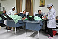 US Navy 111101-N-WW409-114 Sailors donate blood at the Office of the Provincial Red Cross Chapter of Chonburi during a community service event.jpg