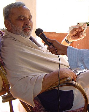 U. R. Ananthamurthy - U R Ananthamurthy in an interview