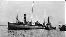 Дойчланд подводный почтальон