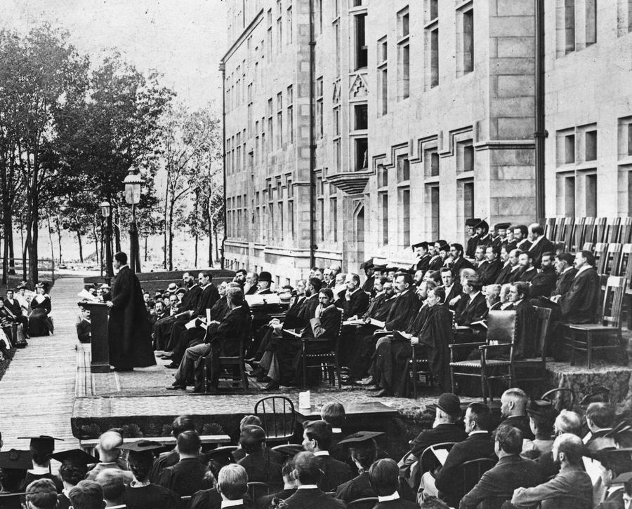 Uchicago convocation 1894