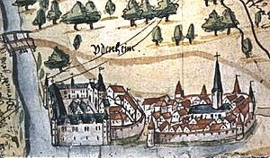 Bishopric of Speyer - Image: Udenheim Philippsburg 1590 2