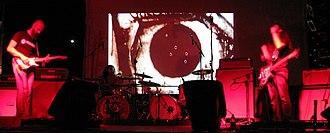 Ufomammut - Poia (left), Vita (centre) and Urlo (right) performing at Shagoo Shagoo Fest 2008.