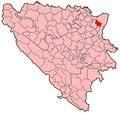 Ugljevik Municipality Location.png