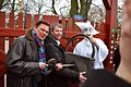 Ulf Pilggard, Nils-Erik Winther og Pjerrot åbner Bakken 2015.jpg