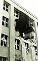 Ulica Postová (gróf Teleki Pál utca) 18 - 20., Postapalota az 1941. június 26.-i bombázás után. Fortepan 95971.jpg