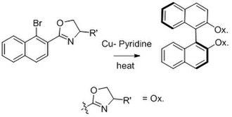 Ullmann reaction - Ullman Asymmetric reaction