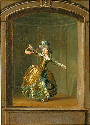 Ulla von Höpken - Ulrika Eleonora von Fersen in the amateur theatre of Gustav III.