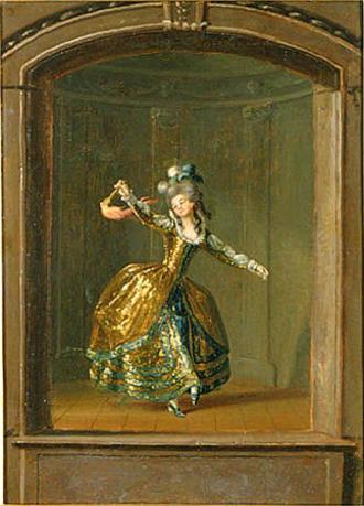 Ulla von Höpken - Ulrika Eleonora von Fersen in the amateur theatre of Gustav III.