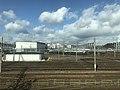 Umekoji Depot from train of Tokaido Main Line.jpg