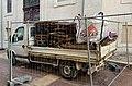 Un camion sur une zone de travaux à Mâcon en janvier 2021.jpg
