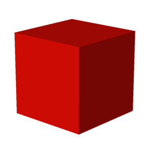 English: Cube