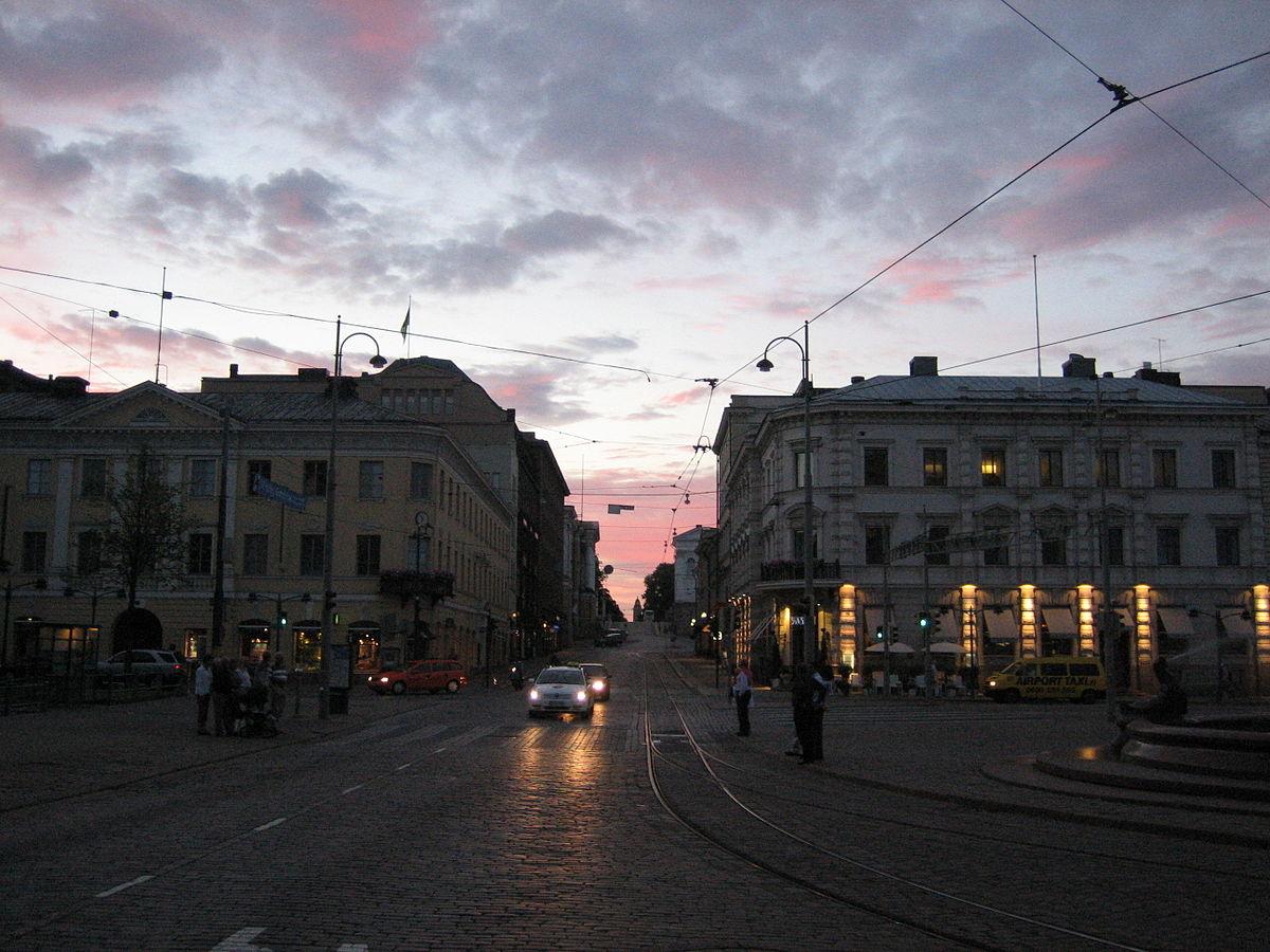 Titolo di citt in finlandia wikipedia for Capitale finlandese