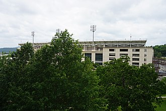 Donald W. Reynolds Razorback Stadium - Image: University of Arkansas May 2017 13 (Donald W. Reynolds Razorback Stadium)