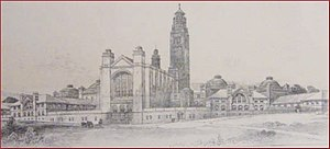 Joseph Chamberlain Memorial Clock Tower - Original design for Old Joe as inspired by St. Mark's Campanile, Venice.