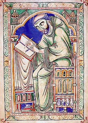 12th century in literature - Scribe of Eadwine Psalter (mid-12th century, English)