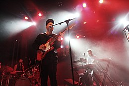 Unknown Mortal Orchestra performing at Sala Apolo in Barcelona, Spain in 2015