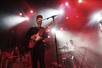 Unknown Mortal Orchestra - Unknown Mortal Orchestra performing at Sala Apolo in Barcelona, Spain in 2015