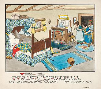 The Teenie Weenies - The Teenie Weenies drawn by William Donahey 1916