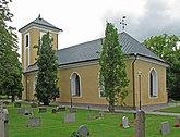 Fil:Västerås-Barkarö kyrka från sydost.jpg