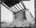 VIEW OF EAST PIER, LOOKING WEST - Lenox Bridge, Spanning Obion River, Rural Road S8025, Lenox, Dyer County, TN HAER TENN,23-LEN.V,1-8.tif