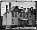 VIEW SOUTH, NORTH FRONT - 1 Dickinson Street (House), Binghamton, Broome County, NY HABS NY,4-BING,12-1.tif