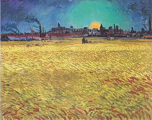 Van Gogh - Sommerabend