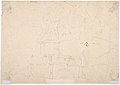 Venetian Capriccio- Landscape with a Farm Building, Sarcophagus, and Fountain (recto); Monument (verso) MET DP807983.jpg